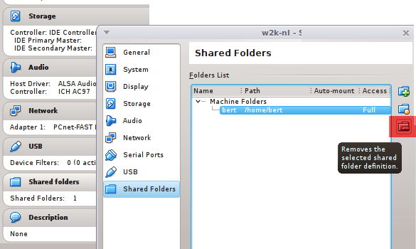 remove-shared-folder